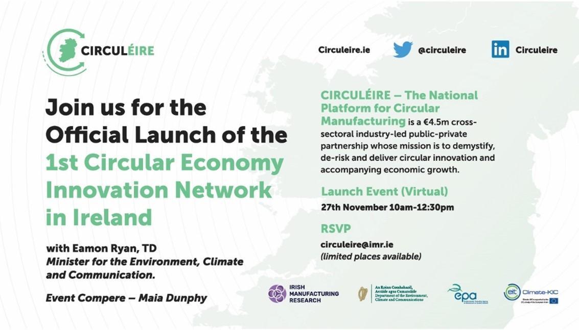 launch circuleire circular economy ireland manufacturing
