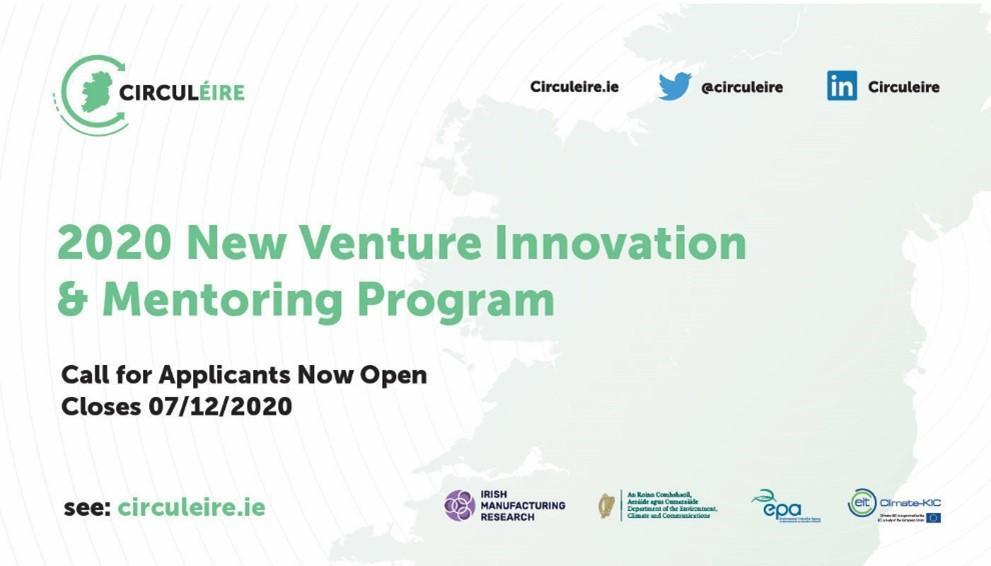 circular economy innovation start ups funding ireland