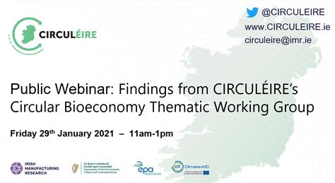Circuleire circular economy bioeconomy webinar