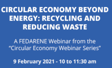 FEDARENE Circular economy recycling waste