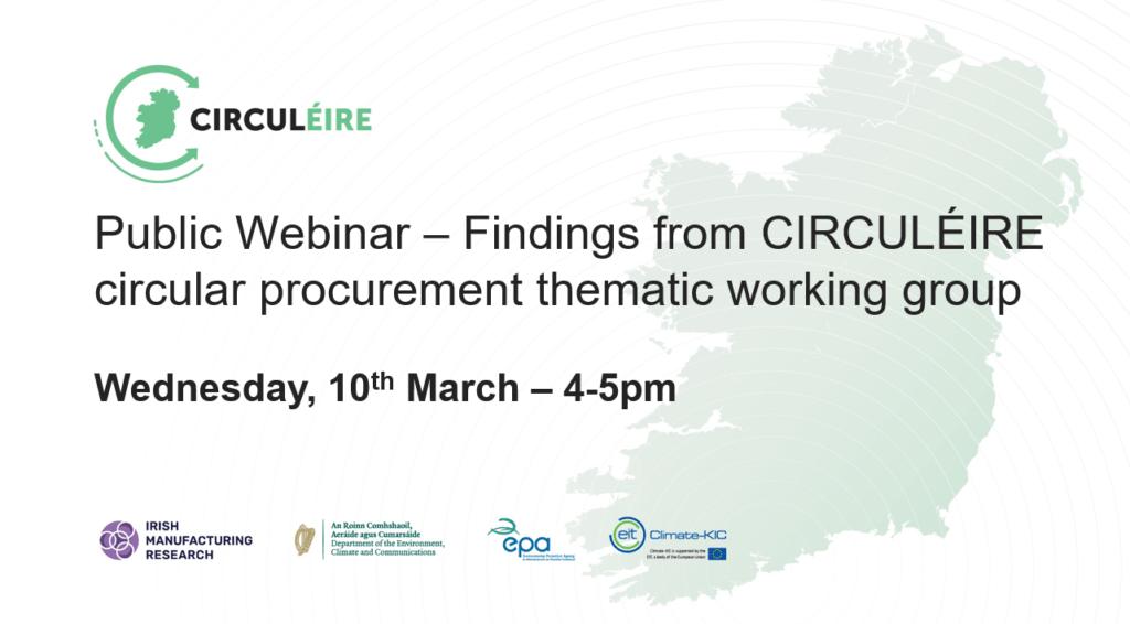 circular procurement circuleire ireland circular economy