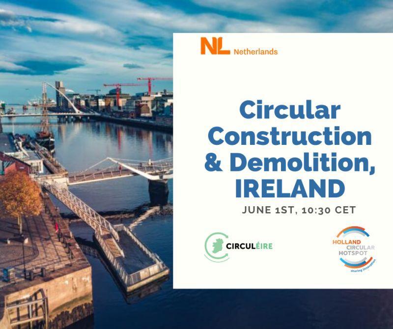 circular economy ireland construction holland