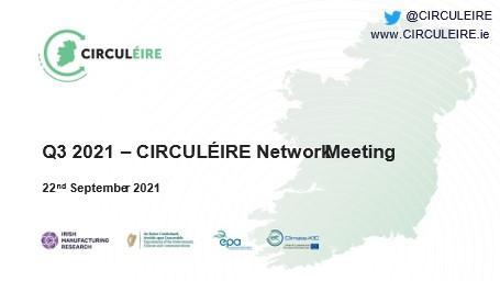 circuleire network meeting circular economy