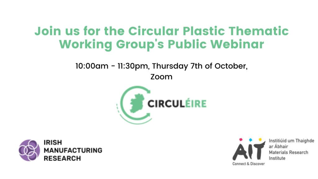 circular plastics webinar ireland
